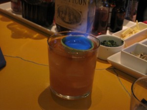 The Flaming Mai Tai!